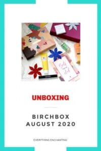 How Birchbox works? Birchbox August 2020 self love club unboxing and review