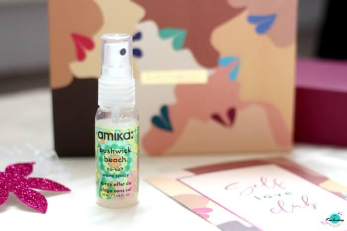 Amika Bushwick Beach Spray in Birchbox August beauty box