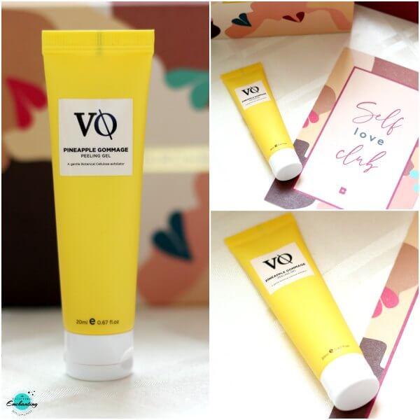 VQ Pineapple Gammage peeling gel, in August Birchbox