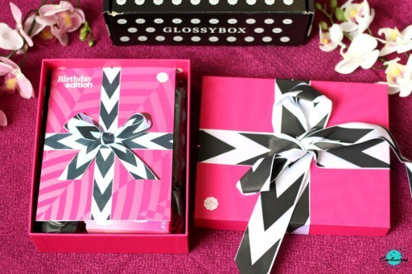 Glossybox august 2020 birthday edition unboxing and review