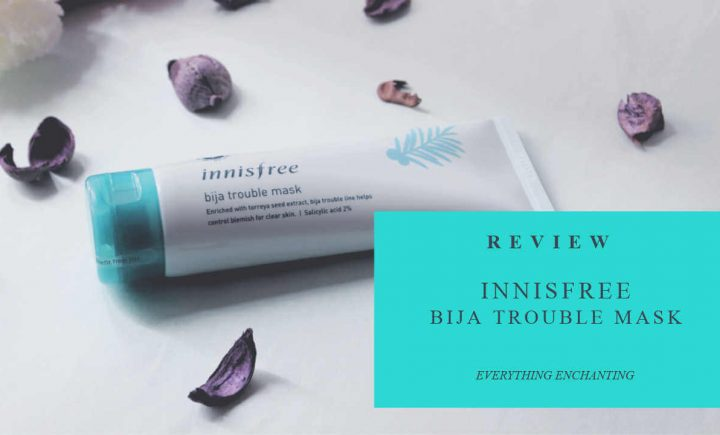Innisfree Bija Trouble Face Mask Review
