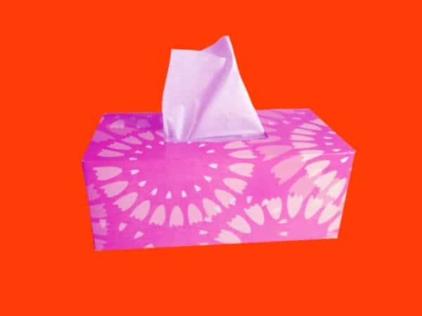 Use tissue papers and wipes while travelling during a global pandemic