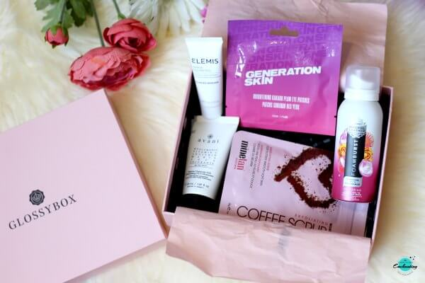 Glossybox spa edit September 2020 unboxing