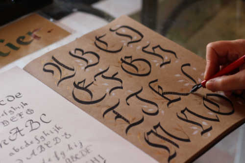 Learn calligraphy. 7 Fun Yet Productive Fall Activities For Adults In 2020