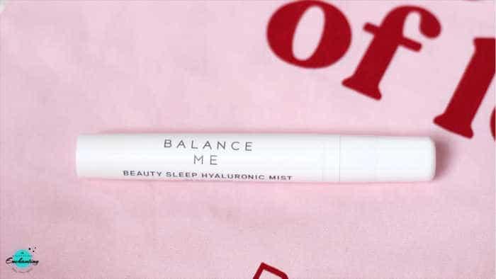 Balance Me Beauty Sleep Hyaluronic Mist. BIRCHBOX OCTOBER 2020 UNBOXING & REVIEW