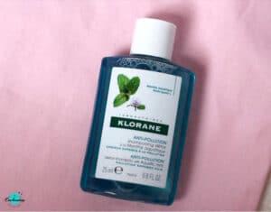 Klorane Anti-Pollution Detox Shampoo With Aquatic Mint  . BIRCHBOX OCTOBER 2020 UNBOXING & REVIEW