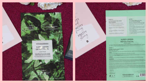 Vitamasques Super Green Detox Facial .Birchbox November 2020 Unboxing & Review