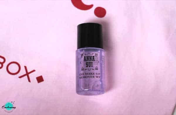 Anna Sui Eye Makeup Remover. BIRCHBOX OCTOBER 2020 UNBOXING & REVIEW