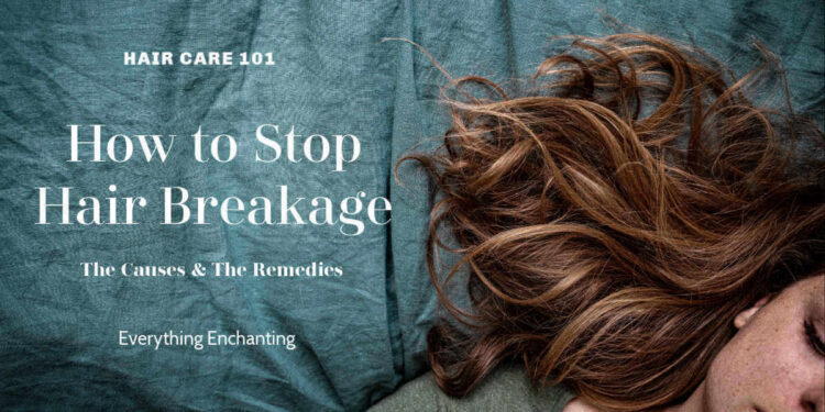 How to stop hair breakage? The causes & remedies