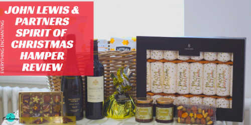 John Lewis & Partners Spirit of Christmas hamper review and unboxing