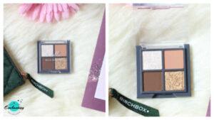 Birchbox December 2020 unboxing and review, Chella La Vie eyeshadow quad