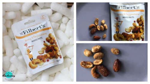 John Lewis & Partners Spirit of Christmas Hamper, Mr Filbert's honey and peppercorn mixed nuts
