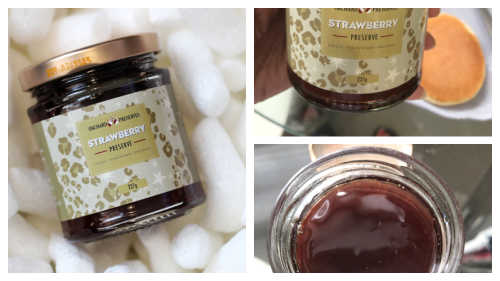 John Lewis & Partners Spirit of Christmas Hamper, Orchard Strawberry Jam