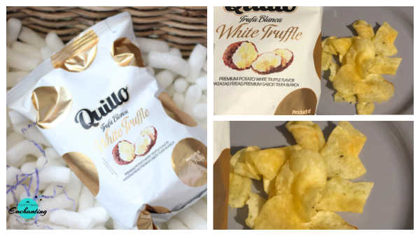 John Lewis & Partners Spirit of Christmas Hamper, Quillo white truffle crisps