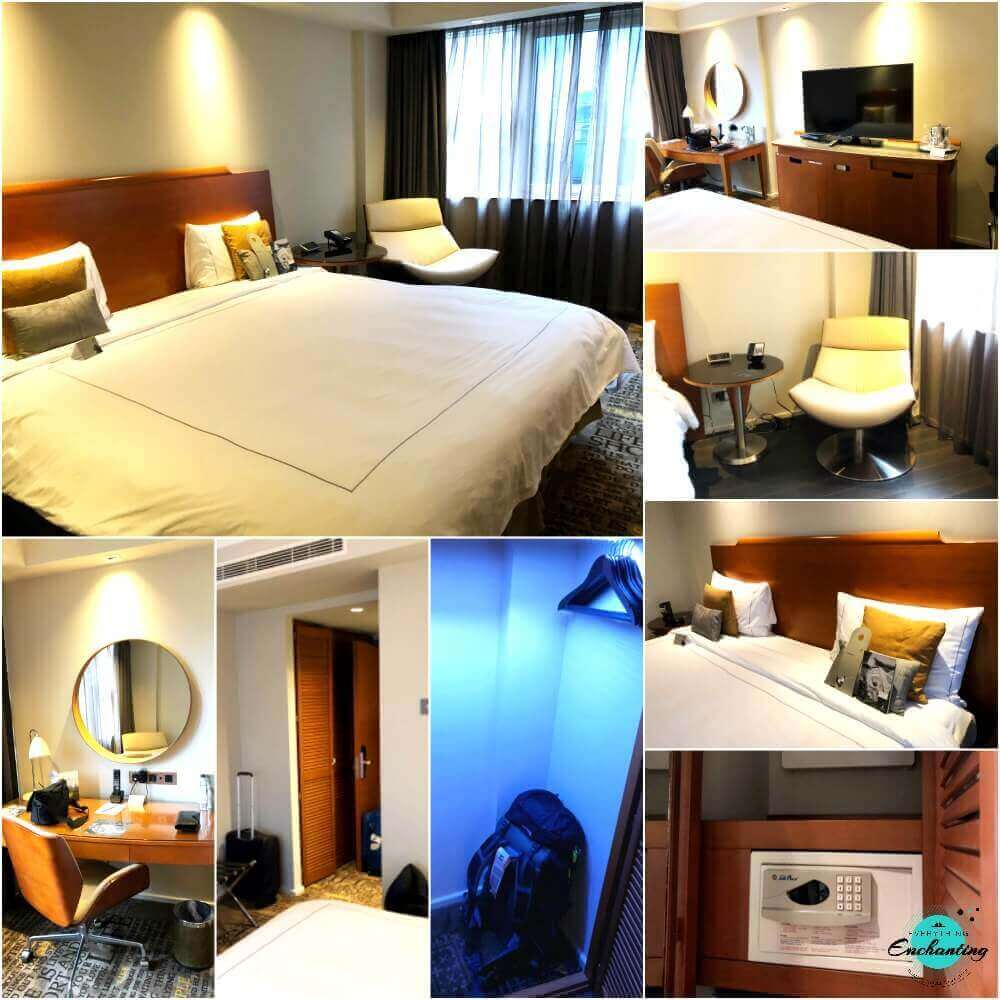 Park Plaza Victoria London Hotel Superior Double Bedroom Review