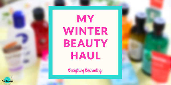 my winter hair care and skincare beauty haul from Selfridges and the body shop website
