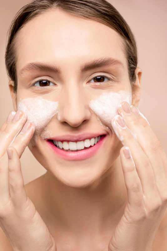 Minimize exfoliation. How you can get glowing skin in winters