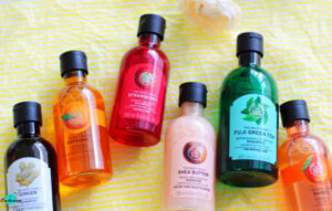 My winter haircare and skincare beauty haul from the body shop site