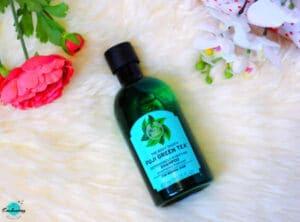 My winter beauty haul - The Body Shop Fuji Purifying Green Tea Shampoo