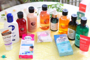 My winter beauty skincare and haircare haul from the body shop and Selfridges