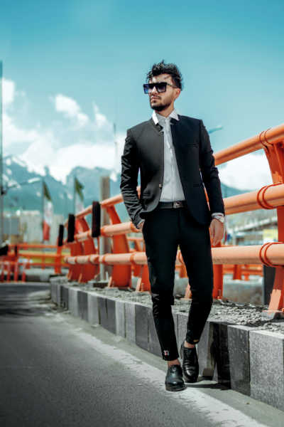 Top Fashion Hacks For Men, get rid of  cuffs from trousers, wear short jacket