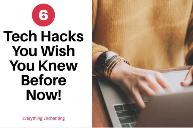 6 technical hacks you wish you knew before now