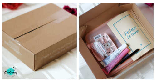 Birchbox April 2021 unboxing & review.Birchbox April 2021 Recyclable Packaging