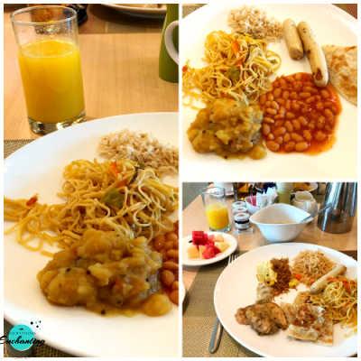 Breakfast scene at Ginger All Day Dining Restaurant at Park Rotana, Abu Dhabi