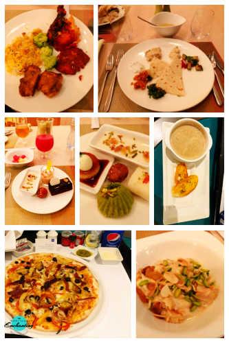 Dinner Scene At Ginger All Day Dining Restaurant, Park Rotana, Abu Dhabi review