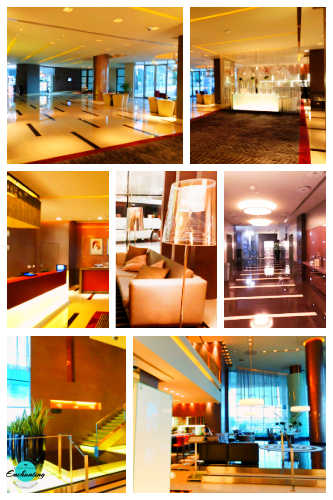 Park Rotana Hotel Lobby. Park Rotana 5 star luxury hotel review, Abu Dhabi