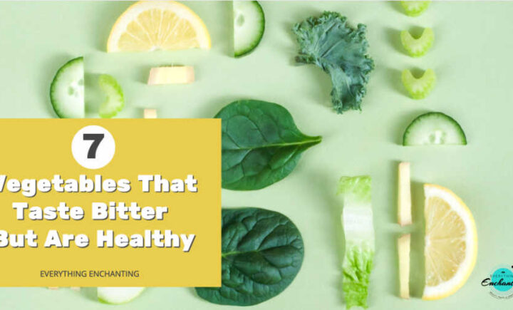 7 vegetables that taste bitter but are healthy