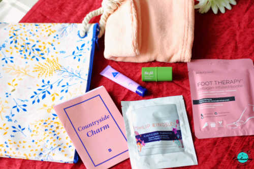 Birchbox July 2021 unboxing and review. countryside charm edition review