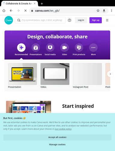 canva, Top 10 free online design creative tools