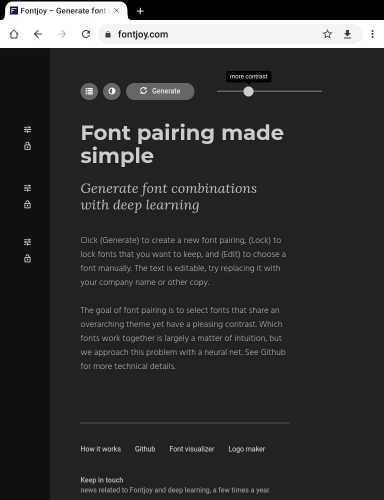 font joy, Top 10 free online design creative tools