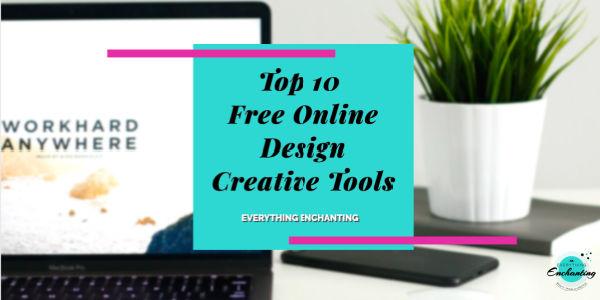 Top 10 free online design creative tools