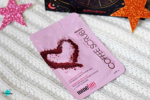 MINETAN Exfoliating Coffe Scrub.Birchbox August 2021 Unboxing & Review