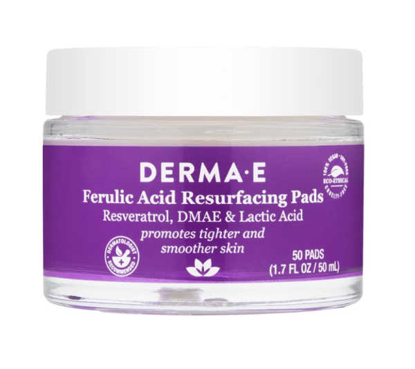 10 best Derma E products in 2021, ferric acid resurfacing pads,  on everything enchanting blog