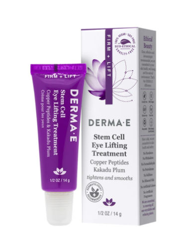 10 best Derma E products in 2021, stem cell eye lifting treatment