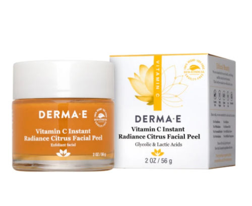 10 best Derma E products in 2021, vitamin c instant radiance facial peel