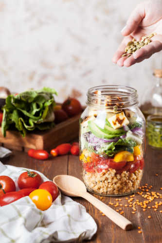 eat healthy food - Top 3 health hacks for a revitalised life