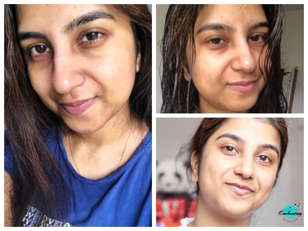 My daily night time skincare routine,30 plus housewife, combination and acne-prone skin. Bare skin of Anamika A Chattopadhyaya