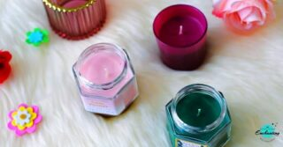 ~ I like my #candles , like I like my people *NON TOXIC* ~ ☺ #potd📷 #qotd🌸 . . #inframe ▪ Scented Candles from #primark ▪ ➡️  🌸 Pink candle with Peony Rose and Apple (offers soft, sweet & rosy scent with a hint of fruity apple aroma 😊)  . 🍃 Green Candle with Wild Mint and Sage (blends earthy, herbaceous floral scented sage with cool wild mint. Oh so refreshing!😍) . 🥀 Red Ombre Mini Votive Candle (offers warm, juicy aroma of refreshing pomegranate) . 🍂 Red Fluted Glass Tealight Holder With Gold Rim #candleholder  . . . I bought these #scentedcandles from #primarkuk store at the beginning of last year when I was struggling with  depression. Did you know, scented candles can help reduce feeling of fear, anxiety and stress? Among these 3 candles, my favourite was pink peony ❤ Thank God, I took photos before using them! 😀 I am now resusing these cute glass jars to store the dry spices 😉😀. I love when it smells good at home 🏡, what about you?  #lateshare 😛 #latepost 😄 . . Do you like scented candles? Any suggestion which one I should try next?  #everythingenchanting . . .  #everythingenchantingphotography #nbamphotography #candlelovers #candlesofinstagram #primarklondon